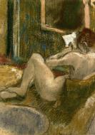 1880-1885. Nude from the Rear, Reading