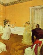 1873. The Rehearsal