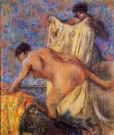 1900. Woman Leaving Her Bath
