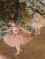 1878-1880. Dancer on Stage