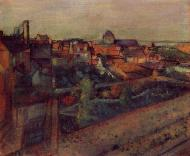 1896-1898. View of Saint-Valery-sur-Somme