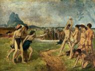 1860. Young Spartans Exercising
