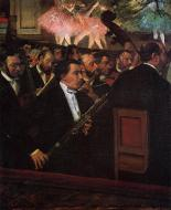 1870. The Orchestra of the Opera