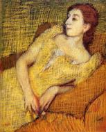 1895. Seated Woman