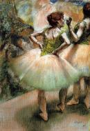 1894. Dancers, Pink and Green