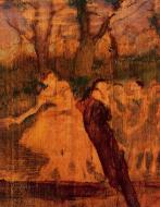 1889. Dancers on the Scenery