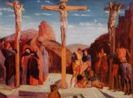 1861. The Crucifixion (after Mantegna)