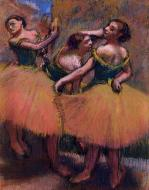 1900. Three Dancers, Green Blouses
