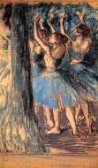 1901. Group of Dancers, Tree D?cor