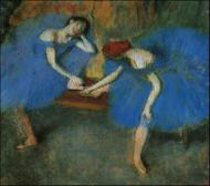 1899. Two Dancers in Blue