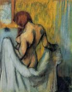 1898. Woman with a Towel
