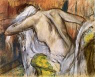 1888-1892. After the Bath, Woman Drying Herself