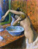 1892. Woman at Her Toilette