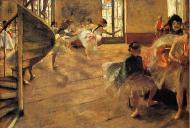 1873-1874. The Rehearsal