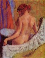 1890-1895. After the Bath