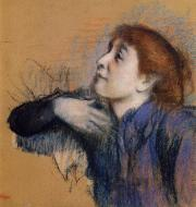 1880-1885. Bust of a Woman