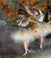 1877-1878. Two Dancers Entering the Stage