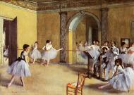1872. Dance Class at the Opera