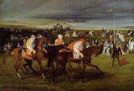 1861-1862. At the Races. the Start