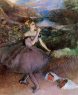 1890-1895. Dancer with Bouquets