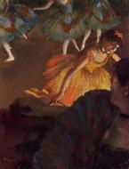 1885. Ballerina and Lady with a Fan