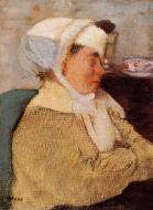 1871-1873. Woman with a Bandage