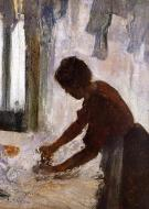 1873. Woman Ironing (also known as Silhouette)