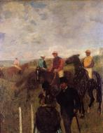 1868-1872. At the Races
