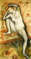 1902. Nude Study of a Dancer