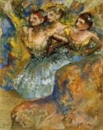 1900-1910. Group of Dancers