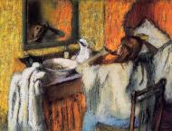 1895-1900. Woman at Her Toilette