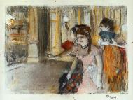 1877. Singers on Stage