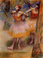 1893-1898. Two Dancers