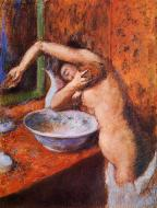 1892. Woman Washing Herself