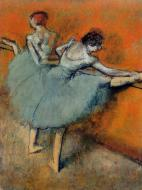 1900-1905. Dancers at the Barre