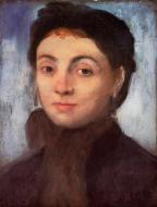 1867. Study for the Portrait of Josephine Gaujean