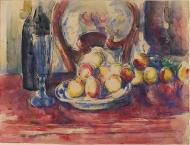 Apples, Bottle and Chairback, 1904-06