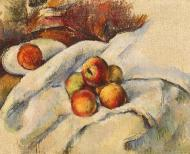 Apples on a Sheet, 1886-90