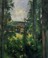 Auvers-sur-Oise, View from Nearby, 1876-77