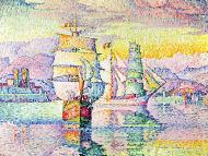 Antibes,The Harbor, 1896