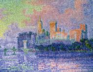 Evening, Avignon (Chateau des Papes), 1909