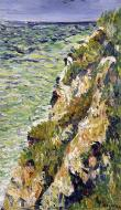 Port-en-Bessin, a Cliff, 1883