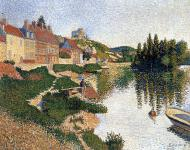 Riverbank, Les Andelys, 1886