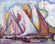 Sails at Saint-Tropez, 1916