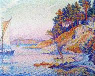 Saint-Tropez, the Calanque, 1906