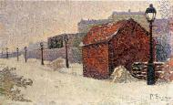 Snow, Butte Montmartre, 1887