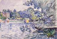 The Banks of Seine, 1900