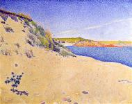 The Beach at Saint-Briac, 1890