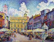 The Market of Verona, 1909