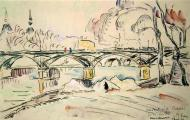 The Pont des Arts, 1924